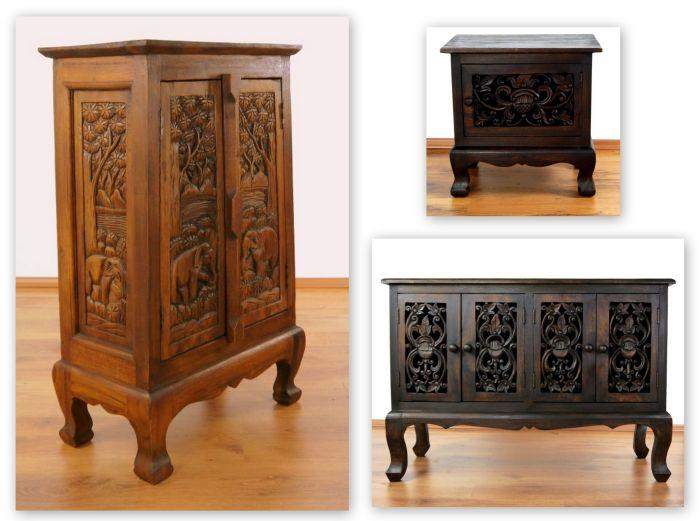 asiatische schr nke kommoden und sideboards asia wohnstudio. Black Bedroom Furniture Sets. Home Design Ideas
