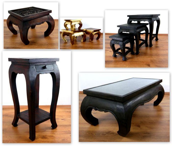 opiumtische und asiatische tische in vielen variationen. Black Bedroom Furniture Sets. Home Design Ideas