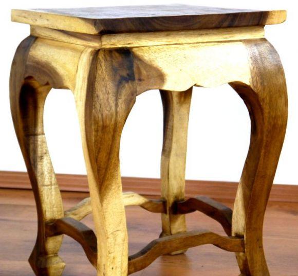 extra hoher opiumtisch mit eingearbeiteter elefantenschnitzerei und glasplatte asia wohnstudio. Black Bedroom Furniture Sets. Home Design Ideas