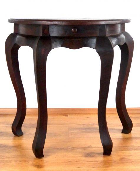 eleganter opiumtisch in schwarz mit schnitzerei im inneren. Black Bedroom Furniture Sets. Home Design Ideas
