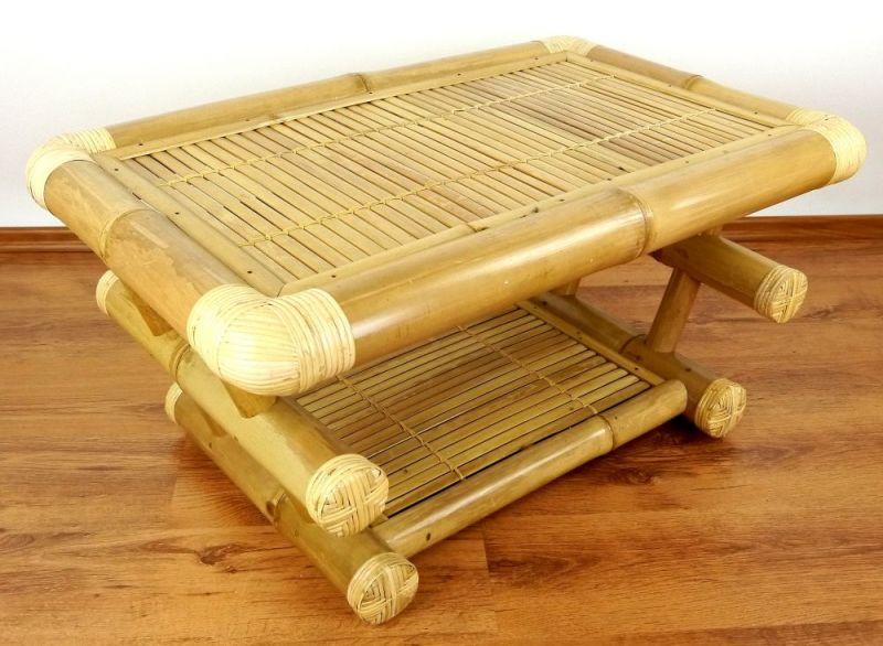 Beistelltisch aus bali - Bambus couchtisch ...
