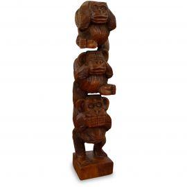 Skulptur Affenleiter aus Bali (Indonesien)