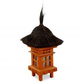Bali Deko Haus mit Kokusnussfaserdach, klein