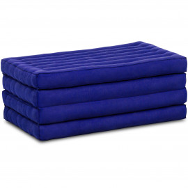Kapok Klappmatratze, Faltmatratze, blau, einfarbig