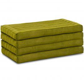 Kapok Klappmatratze, Faltmatratze, grün, einfarbig