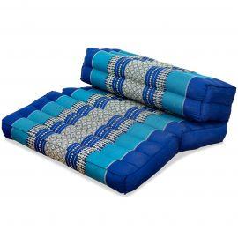 Yogakissen, Stützkissen, klappbar,  blau