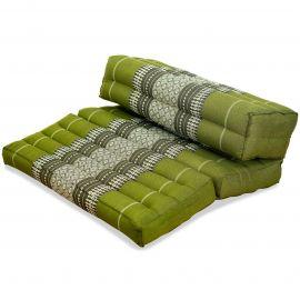 Yogakissen, Stützkissen, klappbar,  grün