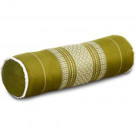 Kapok Nackenrolle, Nackenstützkissen, grün