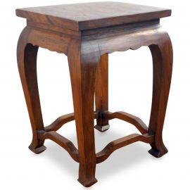 Asiatischer Tisch, hellbraun (hoch)