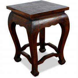 Asiatischer Tisch, dunkelbraun (hoch)