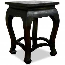 Asiatischer Tisch, schwarz (hoch)