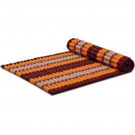 Kapok Rollmatte, Thaimatte, Gr. L, orange