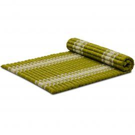 Kapok Rollmatte, Thaimatte, Gr. L, grün