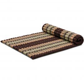 Kapok Rollmatte, Thaimatte, Gr. L, braun