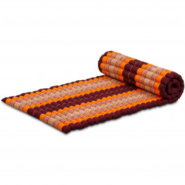 Kapok Rollmatte, Thaimatte, Gr. M, orange
