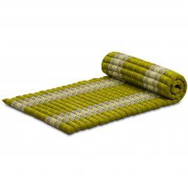 Kapok Rollmatte, Thaimatte, Gr. M, grün