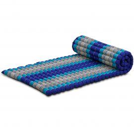 Kapok Rollmatte, Thaimatte, Gr. M, blau