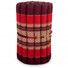 (B-Ware) Nr.99 Kapok Rollmatte, Thaimatte, Gr.S, rubinrot