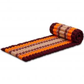 Kapok Rollmatte, Thaimatte,  Gr.S,  orange