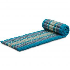 Kapok Rollmatte, Thaimatte,  Gr.S,  hellblau