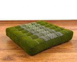 Kapok Sitzkissen, Thaikissen, Gr. M, grün