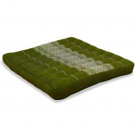 Kapok Sitzkissen, Thaikissen, Gr. L, grün