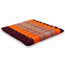 Sitzkissen, Thaikissen, Gr. M, gesteppt, orange