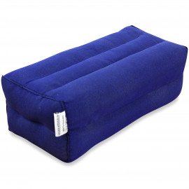 Yogakissen, Stützkissen  blau  (einfarbig)