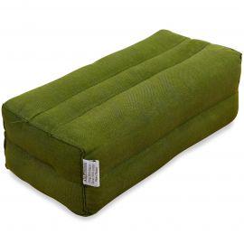 Yogakissen, Stützkissen  grün (einfarbig)
