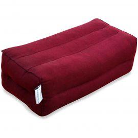 Yogakissen, Stützkissen  rot (einfarbig)