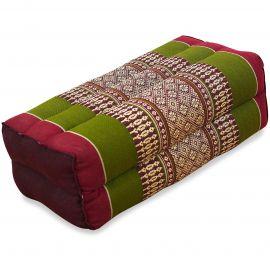 Yogakissen, Stützkissen  rot / grün