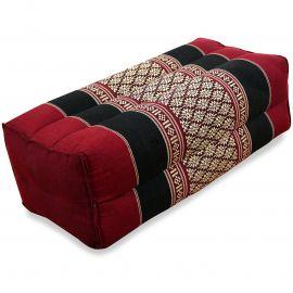 Yogakissen, Stützkissen  rot / schwarz