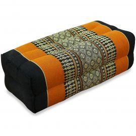 Yogakissen, Stützkissen  schwarz / orange