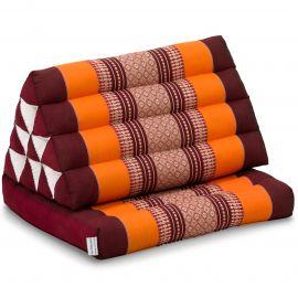Kapok Thaikissen, Dreieckskissen, orange, 1 Auflage