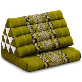Kapok Thaikissen, Dreieckskissen, grün, 1 Auflage