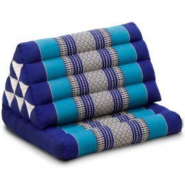 Kapok Thaikissen, Dreieckskissen, blau, 1 Auflage
