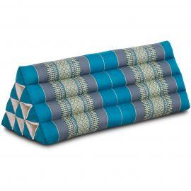 Dreieckskissen als Rückenstütze, extrabreit, hellblau