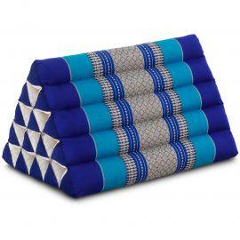 Thaikissen ohne Auflagen, extrahoch  blau