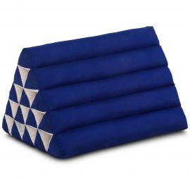 Thaikissen ohne Auflagen, extrahoch  blau einfarbig