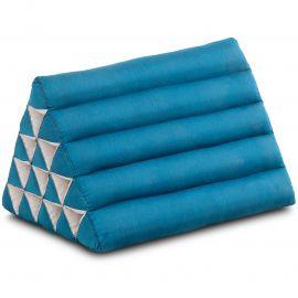 Thaikissen ohne Auflagen, extrahoch  hellblau einfarbig