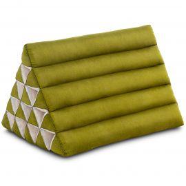 Thaikissen ohne Auflagen, extrahoch  grün einfarbig