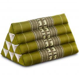 Thaikissen ohne Auflage, grün / Elefanten