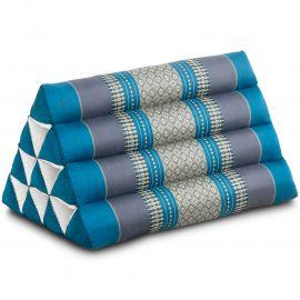 Thaikissen ohne Auflage, hellblau