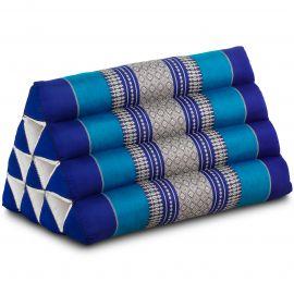 Thaikissen ohne Auflage, blau