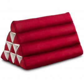 Thaikissen ohne Auflage, rot einfarbig