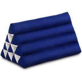 Thaikissen ohne Auflage, blau einfarbig