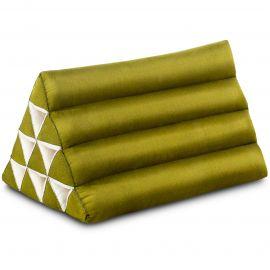 Thaikissen ohne Auflage, grün einfarbig