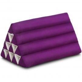 Thaikissen ohne Auflage, lila einfarbig