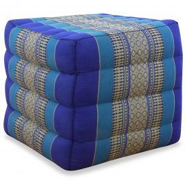 Würfel-Sitzkissen, blau