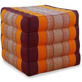 Würfel-Sitzkissen, orange